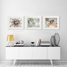 interesting inspiration set of 3 wall art 170 best bathroom decor images on boho copper