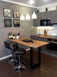wall decor ideas with brick wallpaper