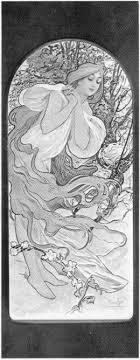 Painting By Alfons Mucha Graces Pisek North Dakota Church