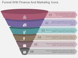 Funnel Powerpoint Template Free Funnel With Finance And Marketing Icons Powerpoint Templates
