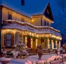 christmas house lighting ideas. christmas splendor my dream house in winter lighting ideas