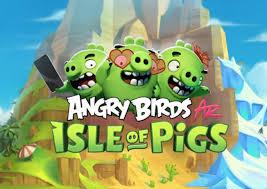 Angry Birds: Isle of Pigs, el paso de los pájaros al mundo real usando  Realidad Aumentada