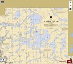 Northern Light Lake Marine Chart Us14983_p1543