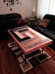 10 ideas for pallet coffee table for living room