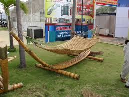 diy bamboo hammock stand