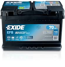 Exide Start Stop Efb Car Battery Exide
