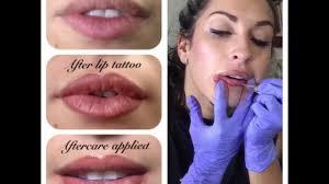 semi permanent makeup lips london