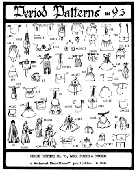 Medieval Patterns Awesome 48 Historic MedievalRenaissance Bags Purses Pouches Period Patterns