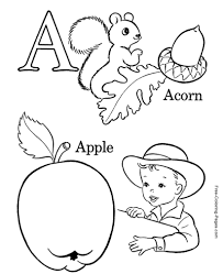 Our top 25 alphabet coloring pages for preschoolers kids alphabet coloring pages not only helps developing coloring skills, but is also a great way to improve your child's vocabulary. Alphabet Coloring Pages Abc Sheets And Pictures