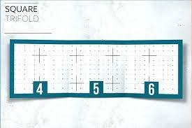 Tri Fold Business Card Template Word Fold Business Card Template Word Printable S Free On Brochure