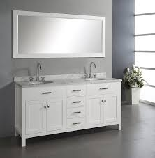 double sink bathroom vanity. virtu usa md-2072-wmro-wh caroline 72-inch double sink bathroom vanity with italian white carrera marble countertop and mirror, finish - amazon.com