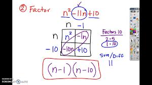 factoring a 1 kuta 1 3