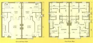 Semi Detached House Plan 15 Crafty Design Ideas Floor Plans For Houses