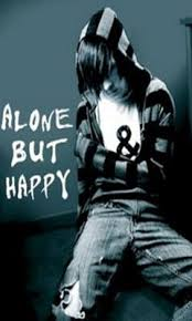 alone but happy pictures