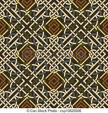 Celtic Pattern Classy The Vector Image Background Seamless Celtic Pattern