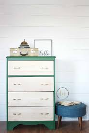 painted green furniture. Emerald Green Two-Tone Painted Dresser | Country Chic Paint - Eco-friendly Furniture