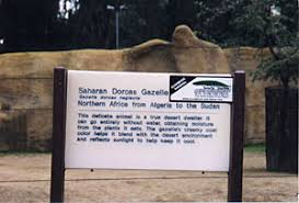 zoo exhibit sign. Contemporary Zoo Sign At An Animal Exhibit Inside Zoo Exhibit Sign B