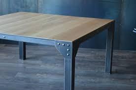 Table Carree 150×150 Excellent Table Bistro Carre En Mtal Et Plateau ...