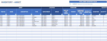 15 Samples Of Inventory Templates In Word Excel And Pdf