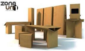 Zona Uno Cardboard Furniture Just Isn t For Back Alleys Anymore
