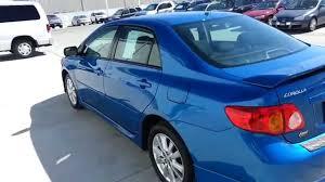 2010 Toyota Corolla S Blue T598210 - YouTube