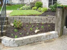 Small Picture Brilliant Landscaping Blocks Ideas How To Build Landscape Wall