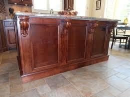 Kitchen Island Tops Kitchen Island Stain Corbels Counter Top Cabinets Kitchen