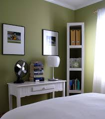 office wall paint colors. Bedrooms Behr Ryegrass Green Walls Paint Color Desk Fan Office Wall Colors