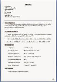 Objective For Information Technology Resume Best of Free Sample Resumes Excellent CV Resume Curriculum Vitae With