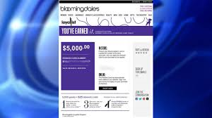 bloomingdale s glitch gives loyalty program members up to 25 000 in gift cards