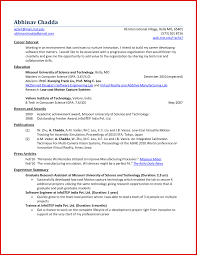Resume Achievements New Achievements In Resume Examples For Freshers