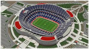 Mile High Stadium Seating Chart Denver Broncos Seating Chart