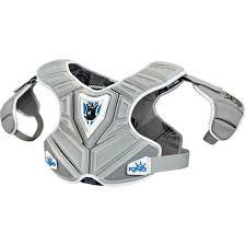Stx Cell 3 Shoulder Pad Size Chart Brine Mens King V Mid Lacrosse Shoulder Pads Gray