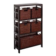 decorative storage cabinets. Delighful Storage Decorative Storage Cabinet With Baskets View Larger To Cabinets