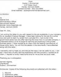 Resume Cover Letter Greeting Jobsxs Com