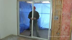 how to remove sliding patio doors you