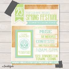 Spring Event Flyer Spring Event Flyer Template Spring Event Flyer Template 11 Photos