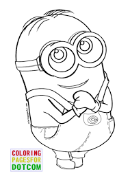 Free Printable Minion Coloring Pages 06