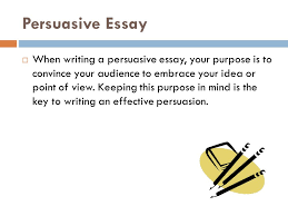 the persuasive essay format and style ppt video online  persuasive essay
