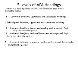 Writing Using Apa Style Ppt Download