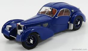 The first owner of #57374, lord philippe de rothschild of london, ordered the car in light blue with dark blue interior. Solido 1802103 Scale 1 18 Bugatti Type 57sc Atlantic 1938 Blue