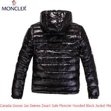 Canada Goose Jas Dames Zwart Sale Moncler Hooded Black Jacket Men