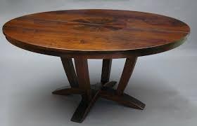 60 round wood dining table regarding with lazy susan furniture inside leaf designs design 5