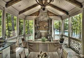 rustic porch with outdoor kitchen outdoor pizza oven zillow rustic outdoor chandelier