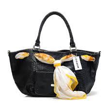... coach embossed scarf medium black totes dfi coach 1203449 62.99 coach  bag