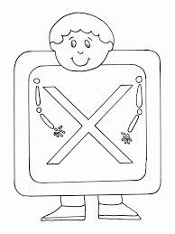 Small Picture Preschool Kids And Letter X Coloring Page Bulk Color Coloring Home