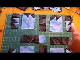 How to Make a Quilt - Bears Paw Quilt Pattern Video - YouTube & How to Make a Quilt - Bears Paw Quilt Pattern Video Adamdwight.com