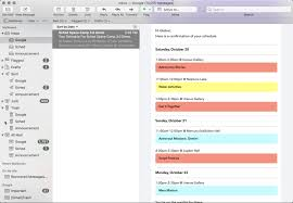 Schedule To Print Your Schedule For Mobile Print And Ical Sched Support
