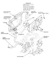 Acura engine cooling diagram illustration of wiring diagram u2022 rh davisfamilyreunion us 2000 honda accord cooling system diagram 2001 honda accord