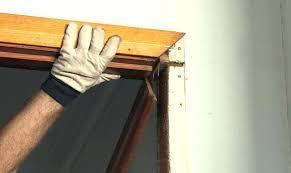 installing door stop door frame stop installing door jamb stops storm doors frames idea install a